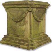 Alessa A Riser Stand Pedestal Statue Base 22in. - Stone - Statue