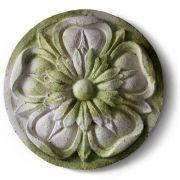 Amalfi Medallion Fiber Stone Resin Indoor/Outdoor Statue/Sculpture