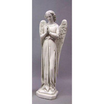 Angel Cari Hands Prayer 21in. - Fiberglass - Outdoor Statue -  - F69734