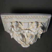 Angel Shelf 10in. (Small Crucifix) - Fiberglass - Statue