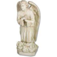 Angel Sorrow Kneeling Pray 27in. - Fiberglass - Outdoor Statue