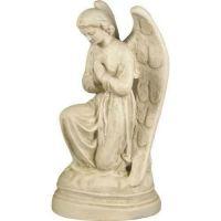 Angel St Anne Praying 21in. - Fiberglass - Indoor/Outdoor Statue