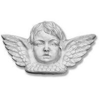 Angel w/Wing Plaque - Fiberglass - Indoor/Outdoor Garden