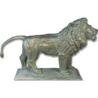 Art Institute Lion 42in. Look R - Fiberglass - Outdoor Statue