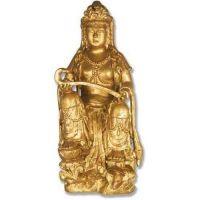 Asian Maiden 42 Inch Fiberglass Indoor/Outdoor Statue/Sculpture