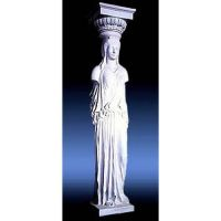 Athenian Caryatid 1 Sided 78in. - Fiberglass - Outdoor Statue