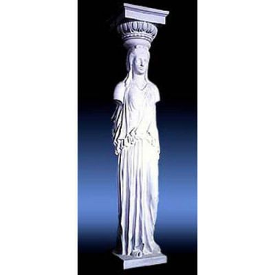 Athenian Caryatid 2 Sided 78in. - Fiberglass - Outdoor Statue -  - F68099