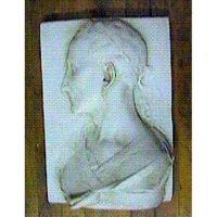 Augustus Caesar Plaque 17in. - Fiberglass - Outdoor