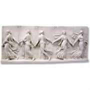 Bacchantes Dancing Frieze - Fiberglass - Indoor/Outdoor Statue