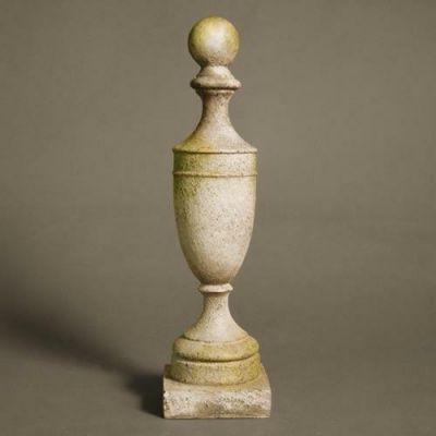 Baldwin Finial - Fiber Stone Resin - Indoor/Outdoor Statue/Sculpture -  - FS00396