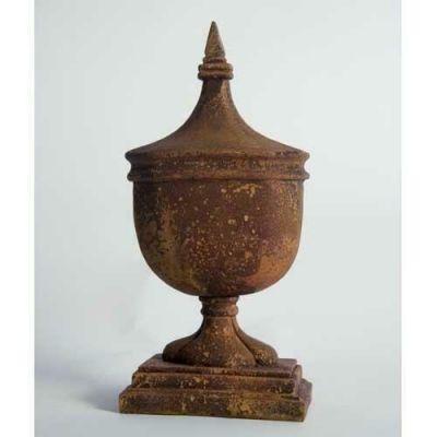 AnnaBella Finial - Fiber Stone Resin - Indoor/Outdoor Garden Statue -  - FS8571