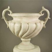 Baroque Urn - Giant 58in. - Fiberglass - Indoor/Outdoor Statue