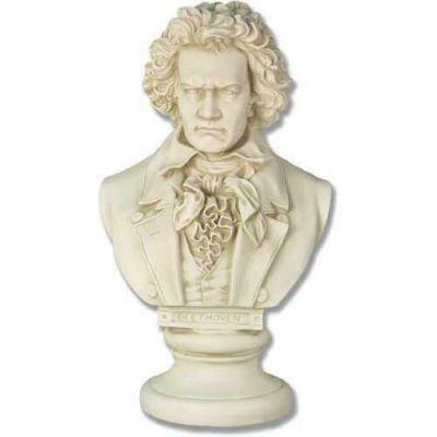 Beethoven Bust - 21in. - Fiberglass - Indoor/Outdoor Statue -  - F7342