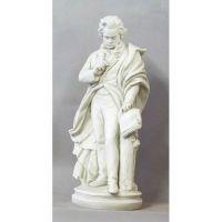 Beethoven - Standing 24in. - Fiberglass - Indoor/Outdoor Statue