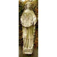 Belfast Figure - A 55in. Fiber Stone Resin Indoor/Outdoor Statue