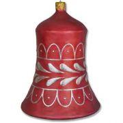 Bell Ornament 31 In. Fiberglass Indoor/Outdoor Statue/Sculpture