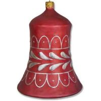 Bell Ornament 31 In. Fiberglass Indoor/Outdoor Statue/Sculpture