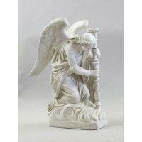 Bergama Angel - Left 35in. - Fiberglass - Indoor/Outdoor Statue