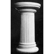 Bernardie Pedestal N/B - Fiberglass - Indoor/Outdoor Statue
