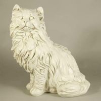 Big Freaking Cat 22in. Fiberglass Resin Indoor/Outdoor Garden Statue