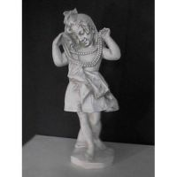 Big Sister With Pearls 31in. - Fiberglass - Outdoor Statue