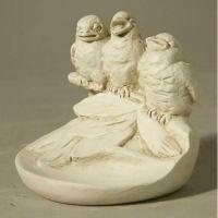 Birds Of Spring 5in. Fiberglass Resin Indoor/Outdoor Garden Statue