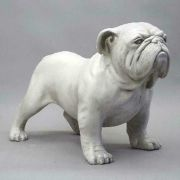 Bulldog 17 Inch Fiberglass Indoor/Outdoor Statue/Sculpture