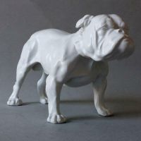 Bulldog Small - Fiberglass - Indoor/Outdoor Statue/Sculpture