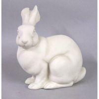 Bunny Rabbit 12in. (Marty) - Fiberglass Resin - Indoor/Outdoor Statue