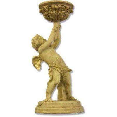 Burden Angel Candleholder - Fiberglass - Indoor/Outdoor Statue -  - HF1132