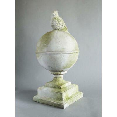 Cardinal Finial Fiber Stone Resin Indoor/Outdoor Statue/Sculpture -  - FS9139
