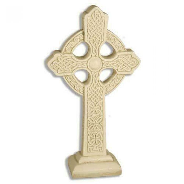 Celtic Cross Tabletop 16in Fibergl Indoor Outdoor Statue F6667