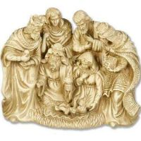 Centered Nativity 10in. - Fiberglass - Indoor/Outdoor Statue