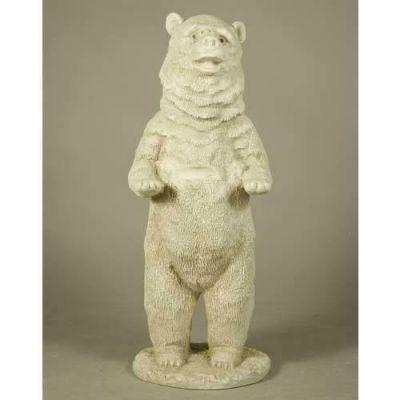 Chicago Bear 26in. - Fiberglass - Indoor/Outdoor Garden Statue -  - F8182