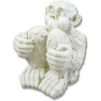 Chimp - Fiberglass - Indoor/Outdoor Garden Statue/Sculpture