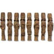 Church Angels Set Of 8 - Fiberglass - Indoor/Outdoor Statue