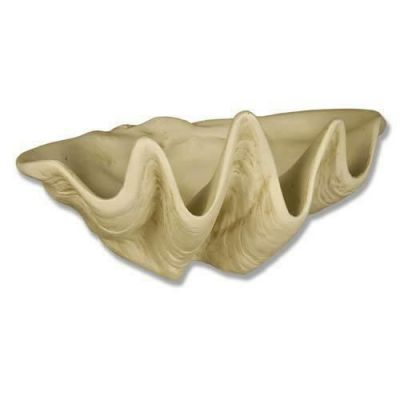 Clam Shell Planter 9in. Fiberglass Indoor/Outdoor Garden Statue -  - F7618