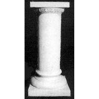 Column With Greek Moulding 35in. High - Fiberglass - Statue