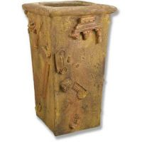 Composition Pot Collade 40in. Fiber Stone Resin Indoor/Outdoor Statue