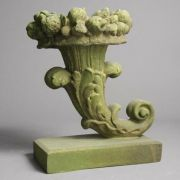 Cornucopia Urn 13in. - Fiber Stone Resin - Indoor/Outdoor Statue