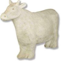 Cow Sculptural Fiberglass Indoor/Outdoor Garden Statue/Sculpture
