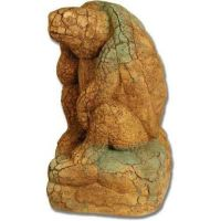 Cracked Up Turtle 12 15in. - Fiber Stone Resin - Indoor/Outdoor Statue