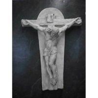Crucifixion Art(Ignatius) 35in. - Fiberglass - Outdoor Statue