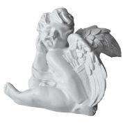 Cupid w/Quiver 12in. Fiberglass Resin Indoor/Outdoor Garden Statue
