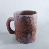 Diner Coffee Cup Planter Fiber Stone Resin Indoor/Statue/Sculpture