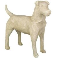 Dog 24in. - Fiberglass - Indoor/Outdoor Statue/Sculpture