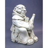 Dom The Monk 14in. - Fiberglass - Indoor/Outdoor Garden Statue