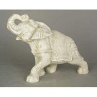 Elephant - Fiberglass - Indoor/Outdoor Garden Statue/Sculpture