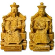 Emperor And Empress - Fiberglass - Indoor/Outdoor Garden Statue