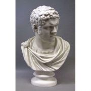 Emperor Caracalla 26in Bust - Fiberglass - Indoor/Outdoor Statue